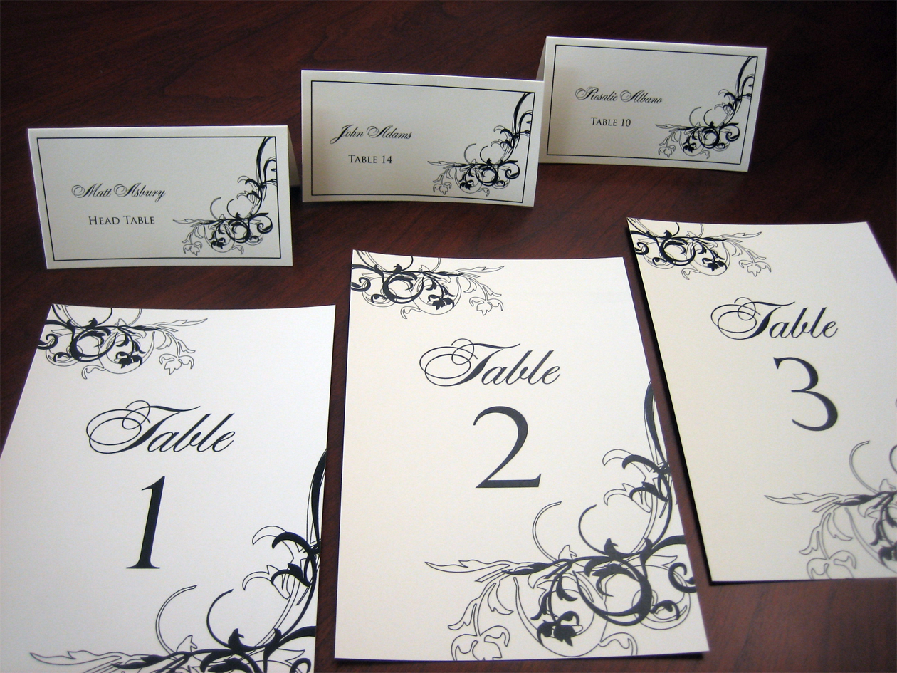 Reception seating cards a vibrant wedding for Table place cards