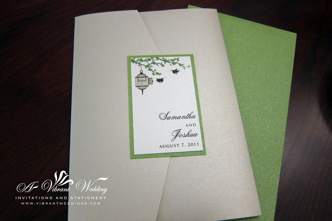 Wedding Invitations Birdcage: Rustic Wedding Invitations
