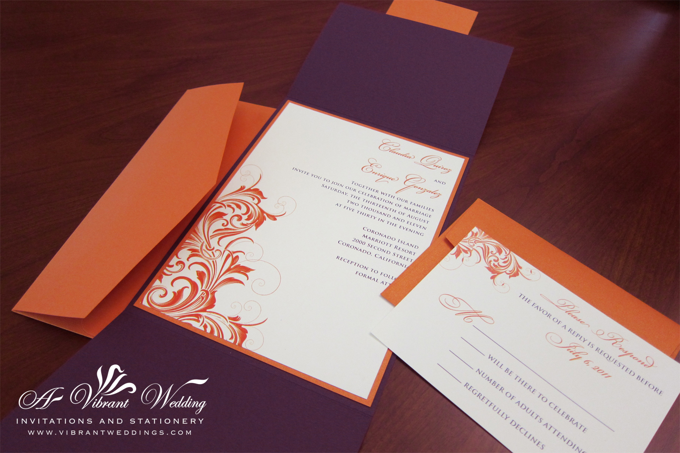 Where To Get Wedding Invitations: Middle Eastern Theme Designs