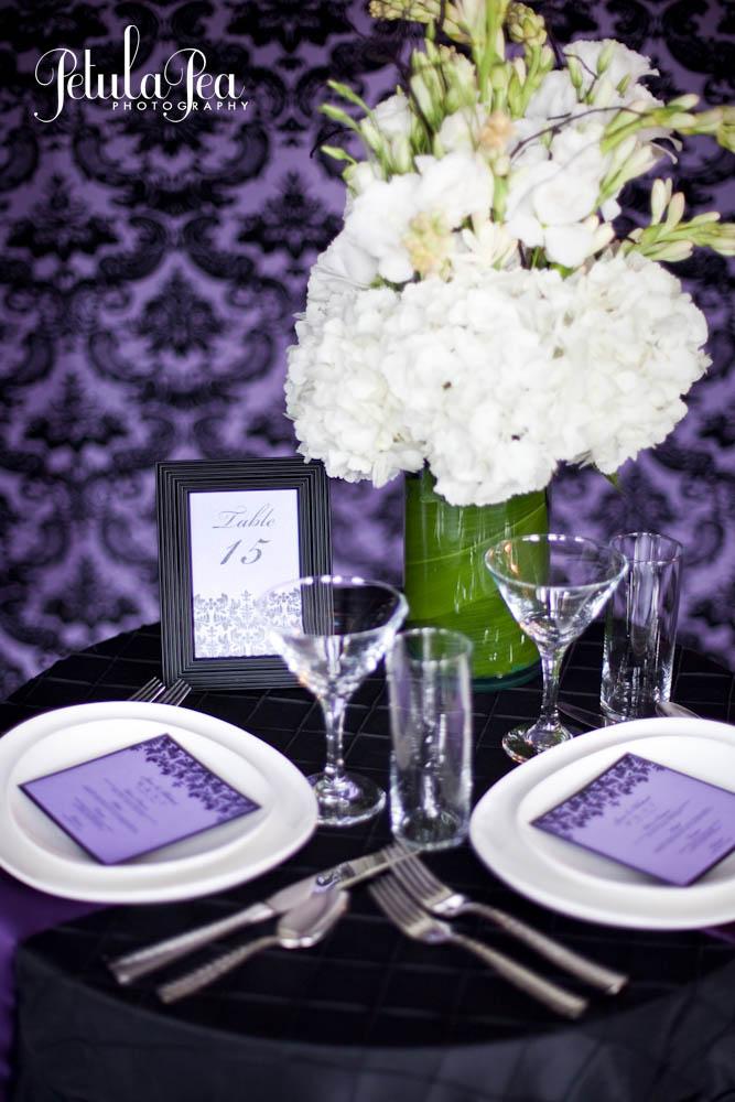 Damask Theme Designs – A Vibrant Wedding
