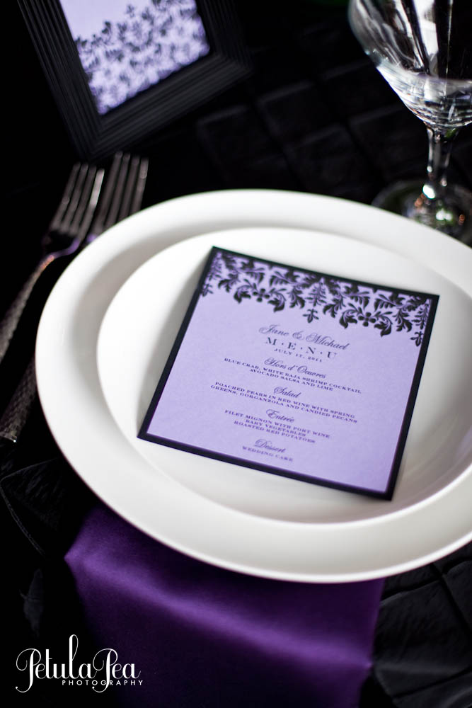 Custom Menu Cards & Table Number Cards