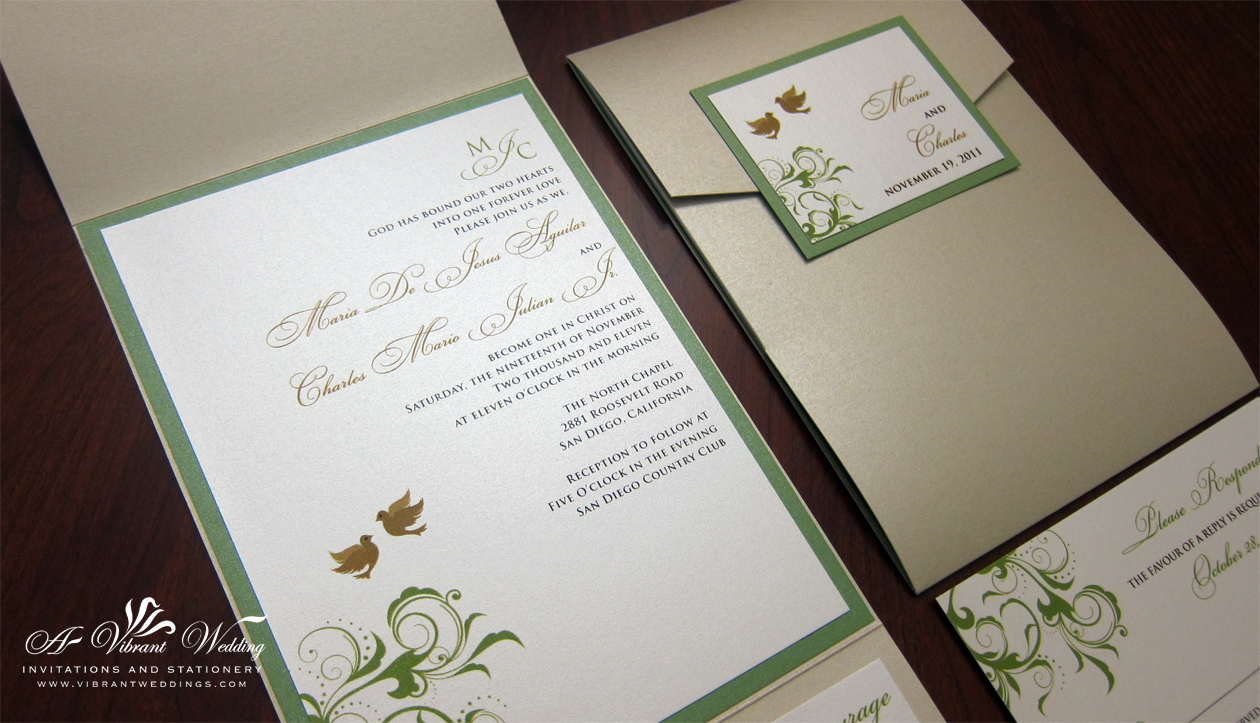 A Vibrant Wedding Invitations – Page 18 – Custom invitations for all ...