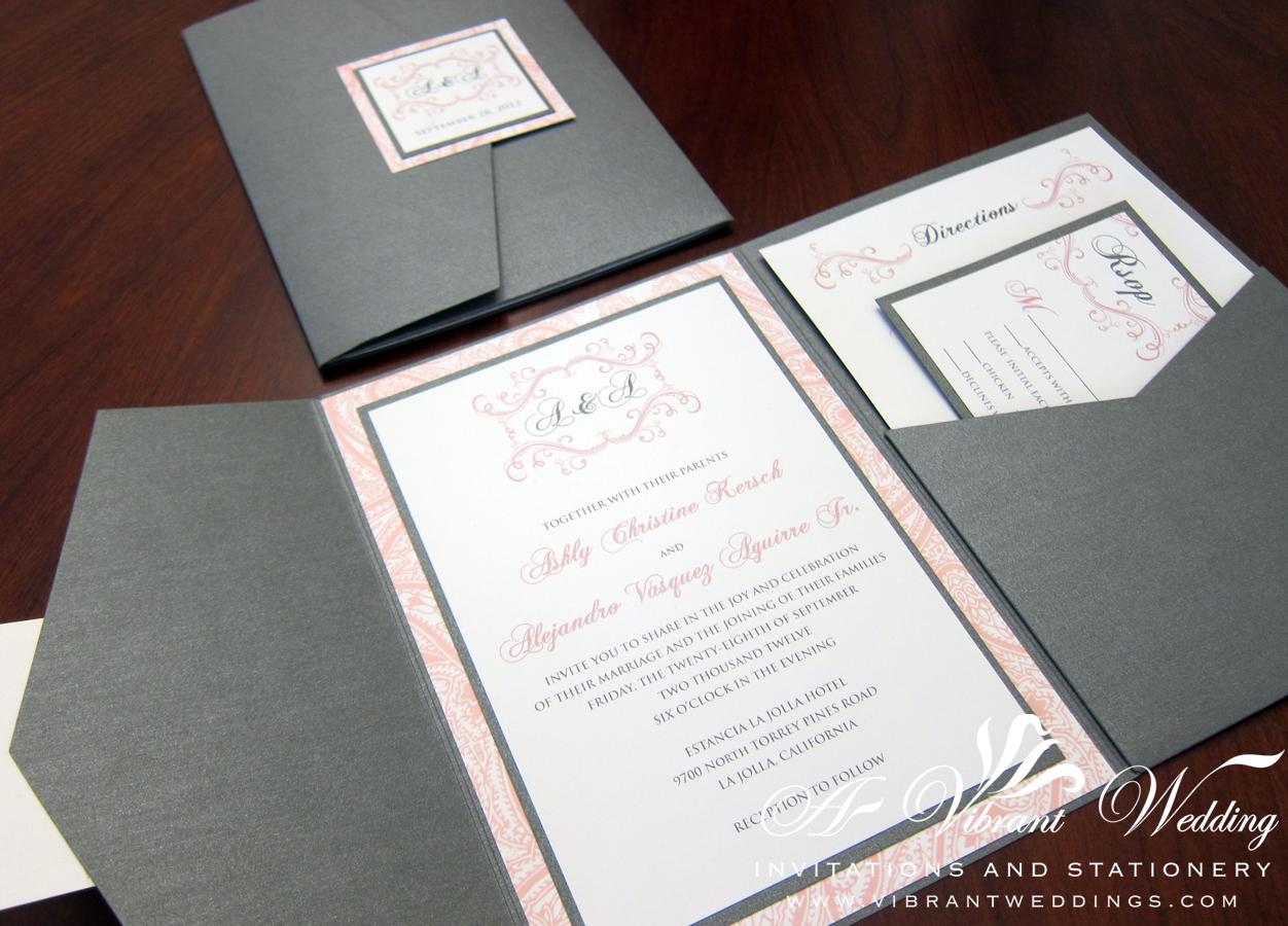 Pocketfold Wedding Invitations 018 - Pocketfold Wedding Invitations