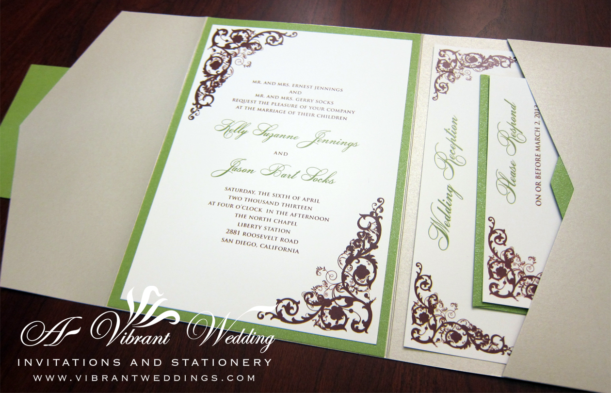 Wedding Invitation Directions Insert with nice invitation template