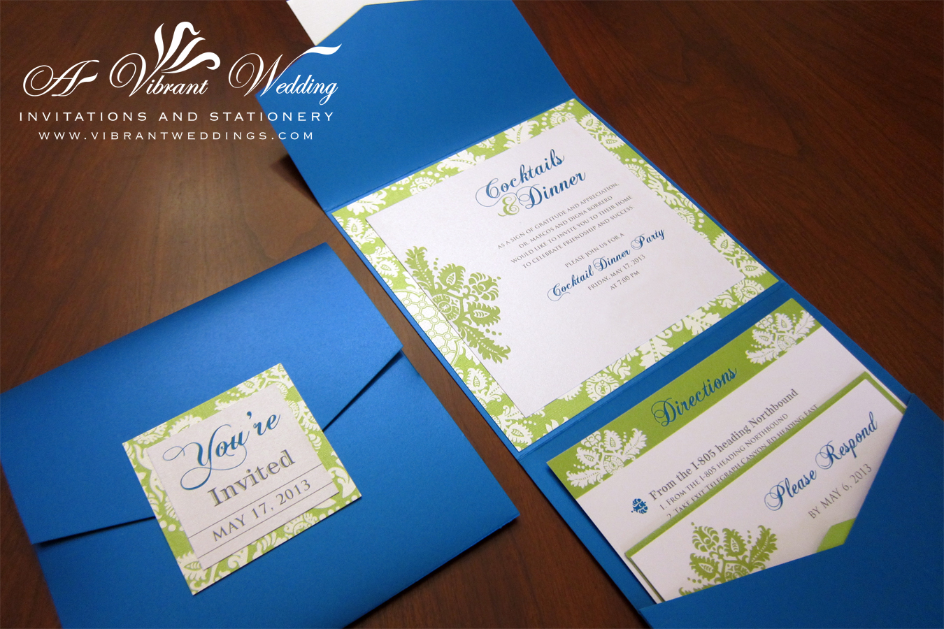 Wedding Invitation Designs Royal Blue: A Vibrant Wedding Invitations