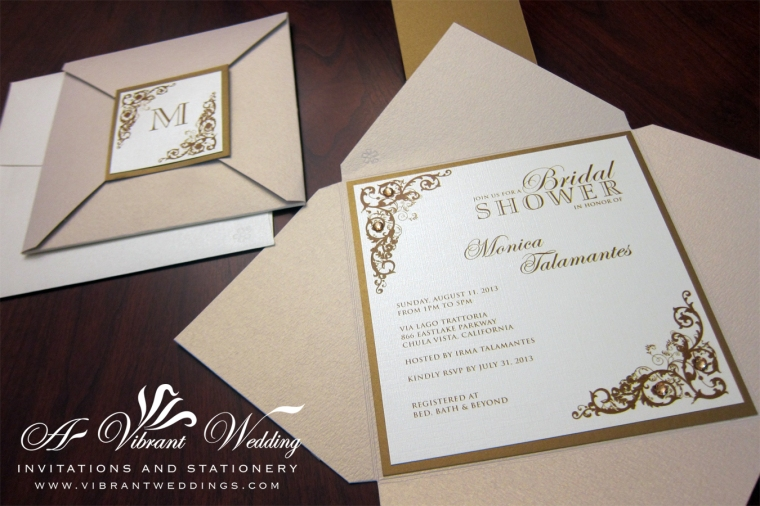 Champagne and Gold Wedding