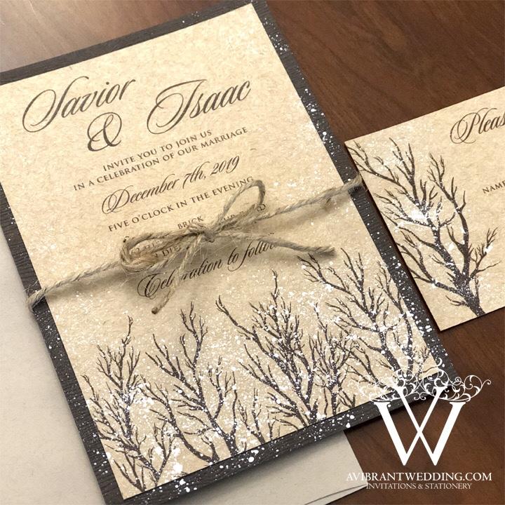 A Vibrant Wedding Invitations – Custom invitations for all special ...